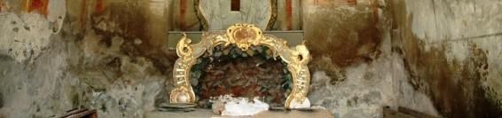 Restoration of baroque frescoes in the chapel 6 – The chapel of the Sorrowful heart of Virgin Maryfresiek v kaplnke č. 6 – Bolestného srdca Panny Márie