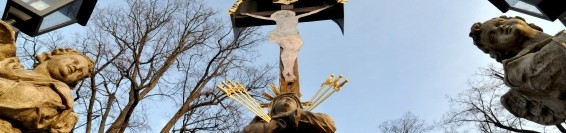Restoration of the column of The Virgin Mary of the Seven Sorrows