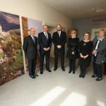 President Kiska visits the new visitor center